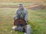 Jack McCullough successful turkey hunt